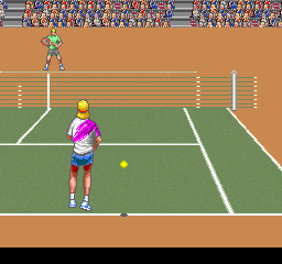 Amazing Tennis (ARC)   © Absolute 1992    2/3