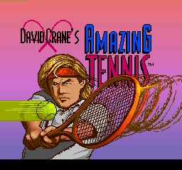 Amazing Tennis (ARC)   © Absolute 1992    1/3