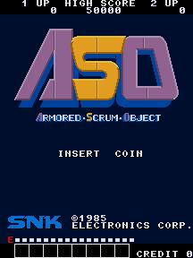 Alpha Mission (ARC)  © SNK 1985   4/8