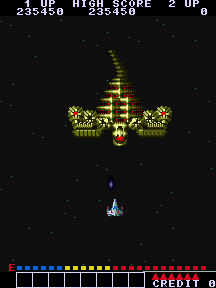 Alpha Mission (ARC)  © SNK 1985   6/8