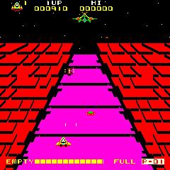 Astro Fantasia (ARC)  © Data East 1981   3/3