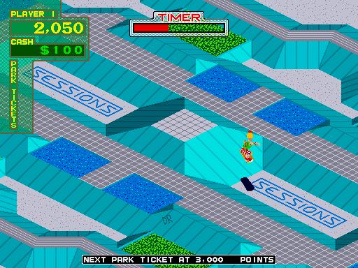 720 Degrees (ARC)  © Atari Games 1986   6/6