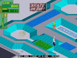 720 Degrees (ARC)  © Atari Games 1986   3/6