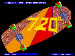 720 Degrees (ARC)  © Atari Games 1986   1/6