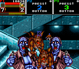 Beast Busters (ARC)  © SNK 1990   3/4
