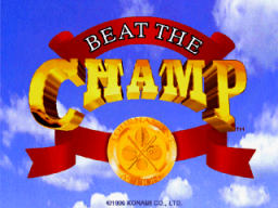 Beat The Champ (ARC)  © Konami 1995   1/3