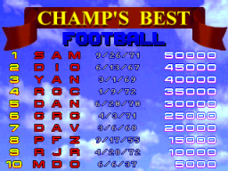 Beat The Champ (ARC)  © Konami 1995   3/3