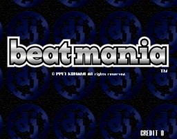 Beatmania (ARC)  © Konami 1997   1/5