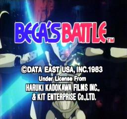 Bega's Battle (ARC)  © Data East 1983   1/4