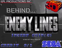 Behind Enemy Lines (ARC)  © Sega 1998   1/3