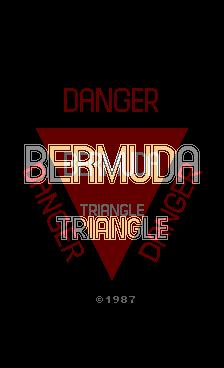 Bermuda Triangle (ARC)  © SNK 1987   1/6