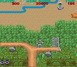 Bionic Commando (ARC)  © Capcom 1987   2/5