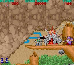 Bionic Commando (ARC)  © Capcom 1987   3/5