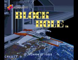 Block Hole (ARC)  © Konami 1989   1/3