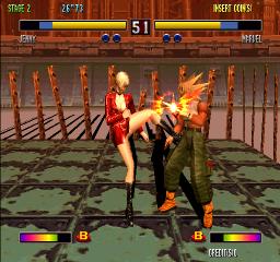 Bloody Roar 2 (ARC)  © Hudson 1998   3/4
