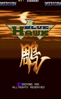 Blue Hawk (ARC)  © Dooyong 1993   1/4