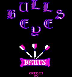Bulls Eye Darts (ARC)  ©  1980   1/3