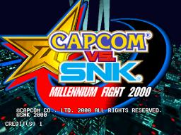 Capcom Vs. SNK: Millennium Fight 2000 (ARC)  © Capcom 2000   1/5