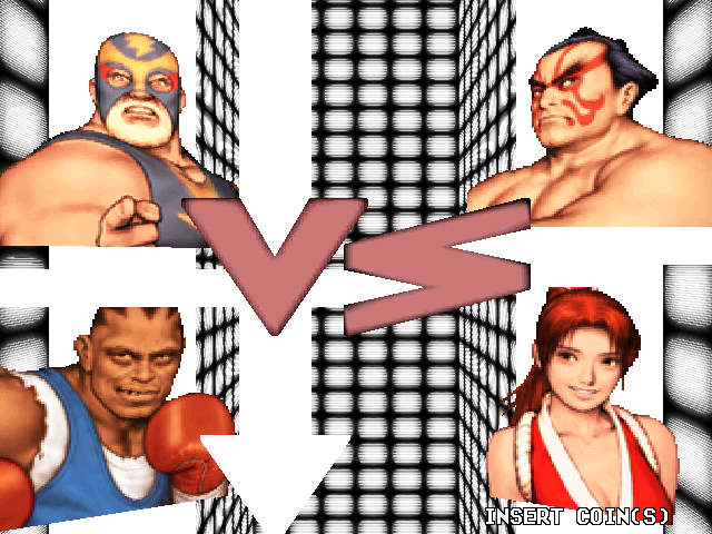 Capcom Vs. SNK: Millennium Fight 2000 (ARC)  © Capcom 2000   5/5