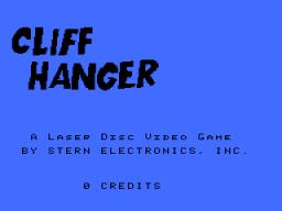 Cliff Hanger (ARC)  © Stern 1983   1/3