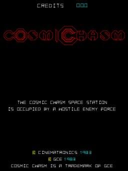 Cosmic Chasm (ARC)  © Cinematronics 1983   1/3