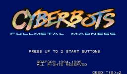 Cyberbots: Fullmetal Madness (ARC)  © Capcom 1994   1/13