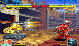 Cyberbots: Fullmetal Madness (ARC)  © Capcom 1994   3/13