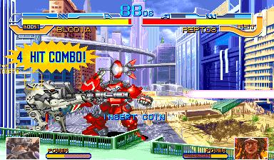 Cyberbots: Fullmetal Madness (ARC)  © Capcom 1994   6/13