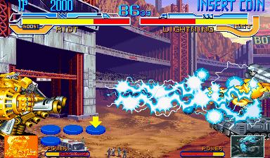 Cyberbots: Fullmetal Madness (ARC)  © Capcom 1994   8/13