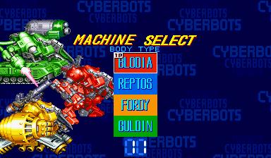 Cyberbots: Fullmetal Madness (ARC)  © Capcom 1994   10/13