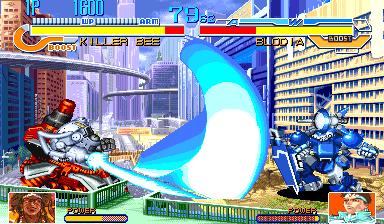 Cyberbots: Fullmetal Madness (ARC)  © Capcom 1994   12/13