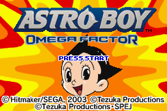 Astro Boy: Omega Factor (GBA)  © Sega 2003   1/4