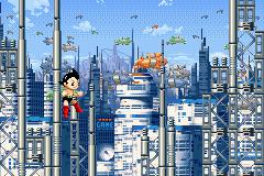 Astro Boy: Omega Factor (GBA)  © Sega 2003   3/4