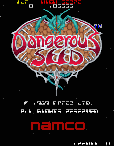 Dangerous Seed (ARC)   © Namco 1989    1/4