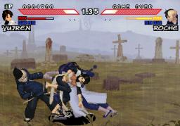 Daraku Tenshi: The Fallen Angels (ARC)  © Psikyo 1998   2/3