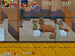 Desert Assault (ARC)  © Data East 1991   2/4