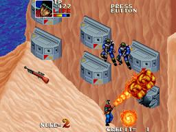 Desert Assault (ARC)  © Data East 1991   3/4
