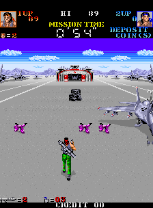 Devastators (ARC)   © Konami 1988    2/5