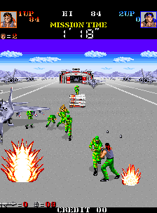 Devastators (ARC)   © Konami 1988    4/5