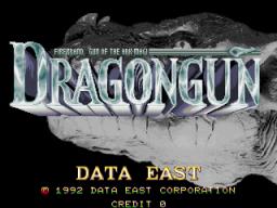 Dragon Gun (ARC)  © Data East 1992   1/5