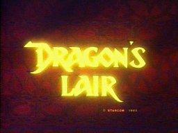 Dragon's Lair  © Cinematronics 1983  (ARC)   1/3