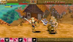 Dungeons & Dragons: Shadow Over Mystara (ARC)  © Capcom 1996   3/23