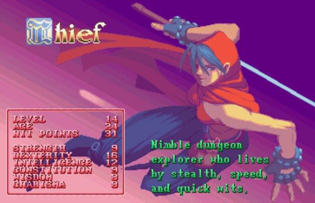 Dungeons & Dragons: Shadow Over Mystara (ARC)  © Capcom 1996   5/23