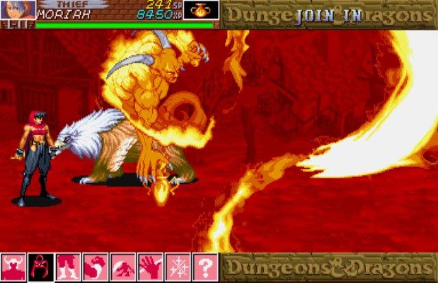 Dungeons & Dragons: Shadow Over Mystara (ARC)  © Capcom 1996   6/23