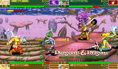 Dungeons & Dragons: Shadow Over Mystara (ARC)  © Capcom 1996   9/23