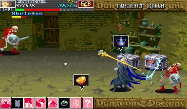 Dungeons & Dragons: Shadow Over Mystara (ARC)  © Capcom 1996   12/23