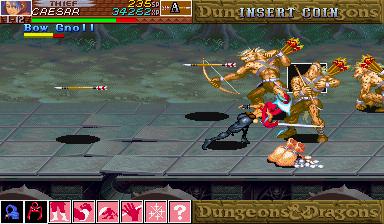 Dungeons & Dragons: Shadow Over Mystara (ARC)  © Capcom 1996   14/23