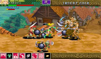 Dungeons & Dragons: Shadow Over Mystara (ARC)  © Capcom 1996   15/23
