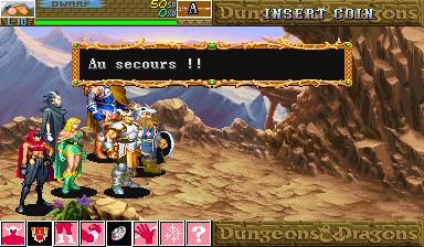 Dungeons & Dragons: Shadow Over Mystara (ARC)  © Capcom 1996   16/23