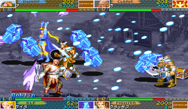 Dungeons & Dragons: Shadow Over Mystara (ARC)  © Capcom 1996   17/23